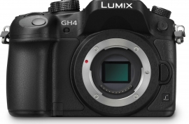 Panasonic GH4 4K Camera - with 14-140mm digital zoom.